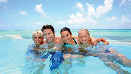 Family fun at Club Med Mauritius
