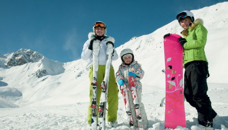 Ski in New Zealand, Europe, Japan, Canada and many other places